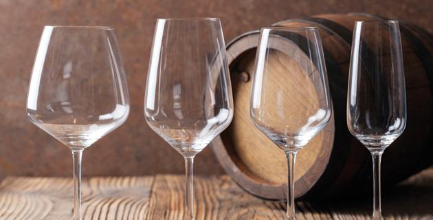 Wie viele verschiedene Weingläser sollte man haben?