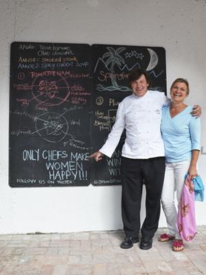 Jürgen und Susanne Schneider vom Weingut Springfontein