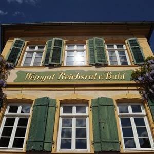 Das alte Gutshaus in Deidesheim, Pfalz