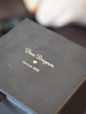 Champagner-Box des 2003er Vintage von Dom Pérignon