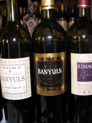 Banyuls sind die wohl bekanntesten Vin De Naturel