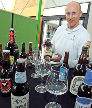 Grosse Vielfalt bei der Bierprobe mit Jörn Stoll