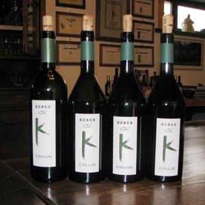 Autochtone Rebsorten beim Weingut Edi Keber