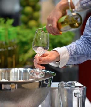 Auf der Badischen Weinmesse können verschiedenste Gewächse probiert werden
