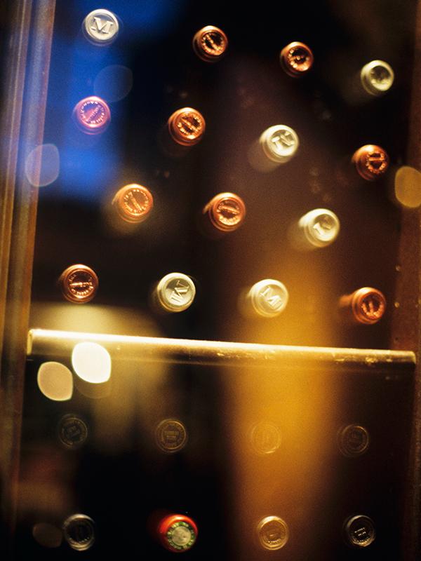 Hochwertiger Weintemperierschrank mit zwei Temperaturzonen