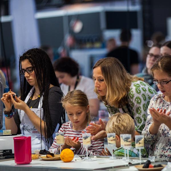 Bei der eat&STYLE werden die Besucher aktiv mit eingebunden