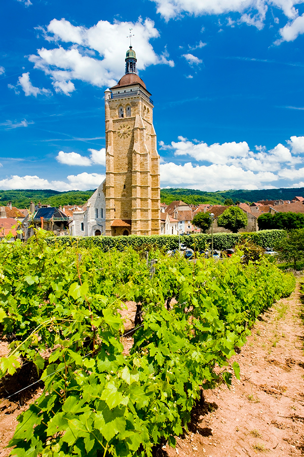 Arbois im französischen Jura
