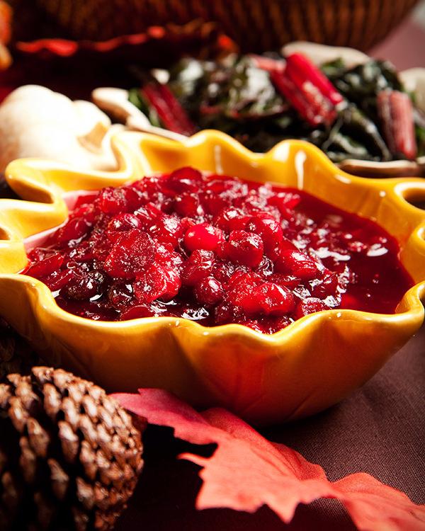 Cranberries - Eine typische Beilage zum Thanksgiving Dinner