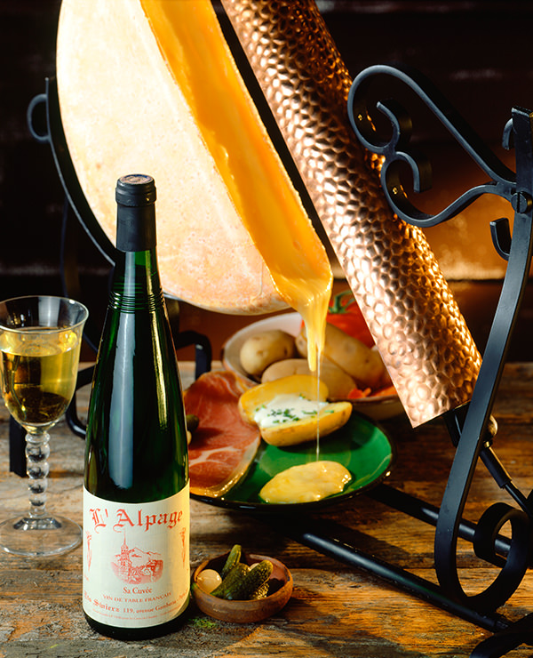 Das traditionelle Tisch-Raclette aus der Schweiz