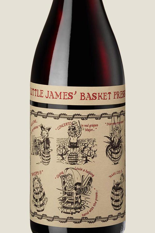 Der Château de Saint Cosme Little James Basket Press rouge