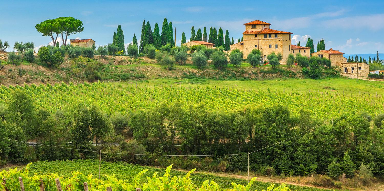 Die bekanntesten Weine der Toskana
