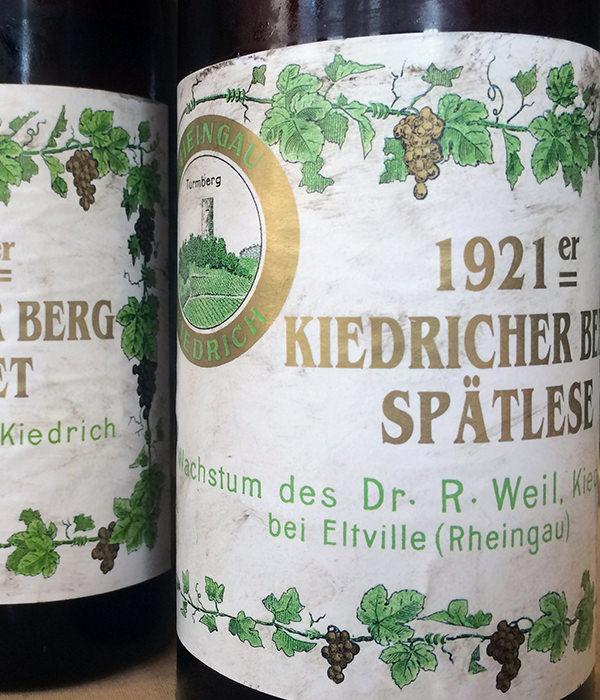 Wein vom Kiedricher Berg
