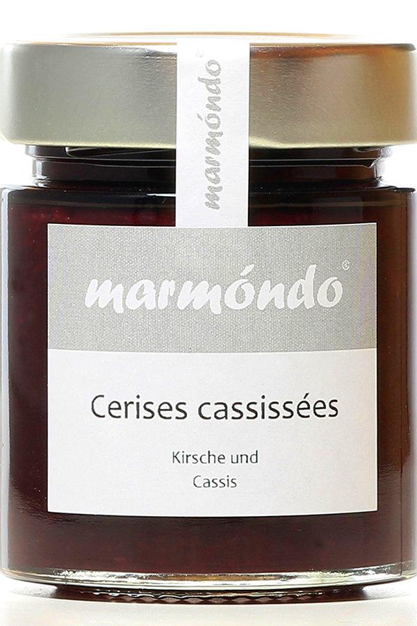 Cerises cassissées - Marmelade von Marmóndo
