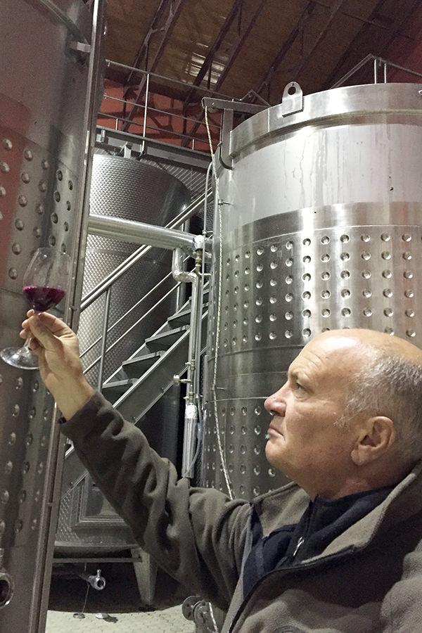 Weinexperte Josef Watzl