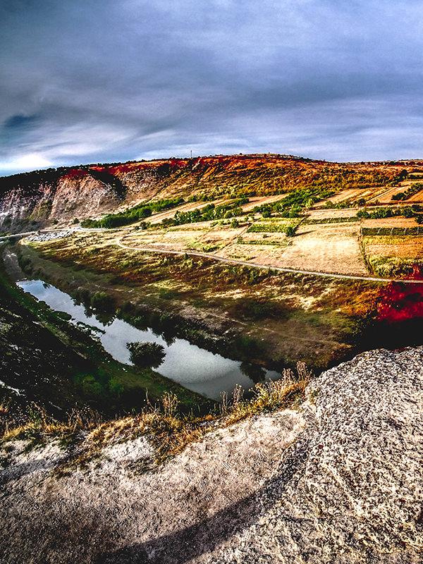 Landschaft von Moldawien