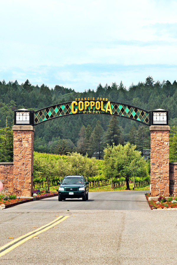 Coppolas Weingut in Napa Valley Geyserville