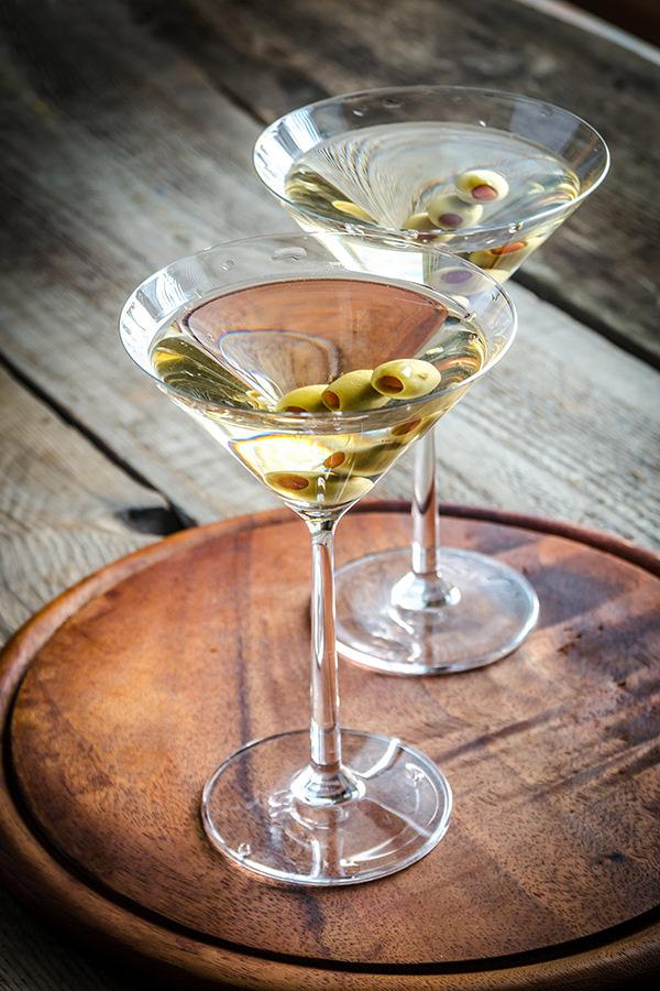 Einen Martini bitte- geschüttelt, nicht gerührt