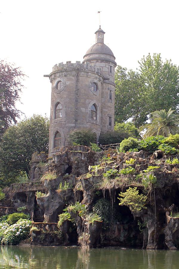Der Park der Quinta de Curvos