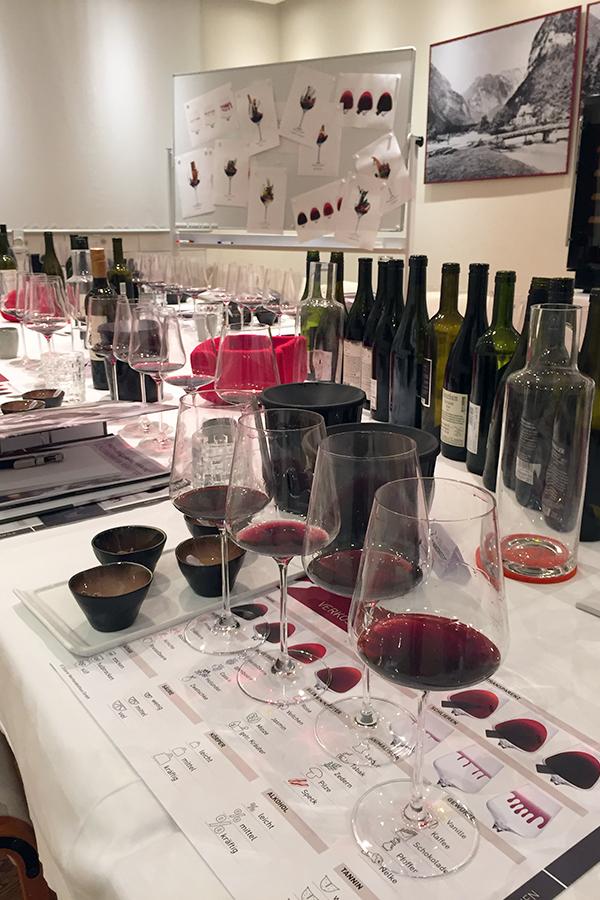 Weinwerkstatt SERVICE-Tage - Die roten Tropfen Österreichs