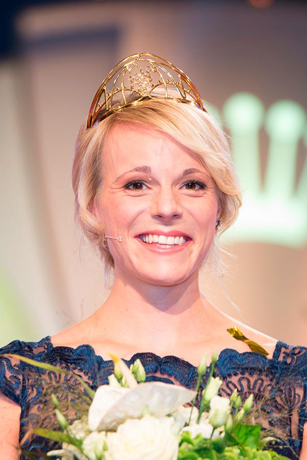 Die neue Deutsche Weinkönigin Katharina Staab