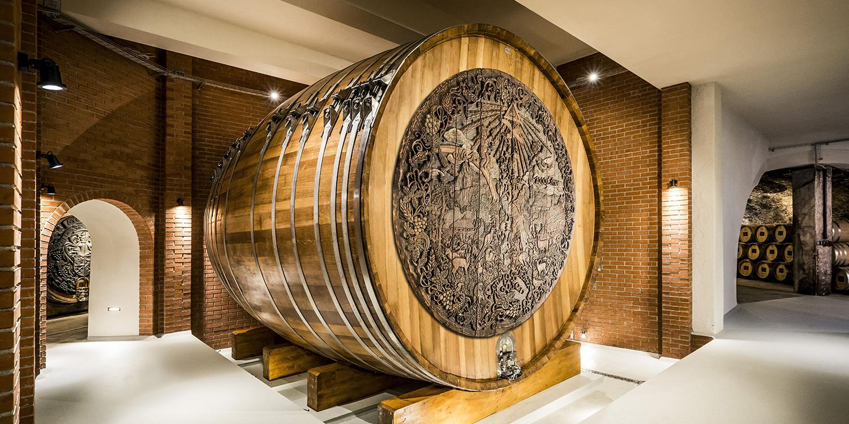 Das etwas andere Wein-Holzfass