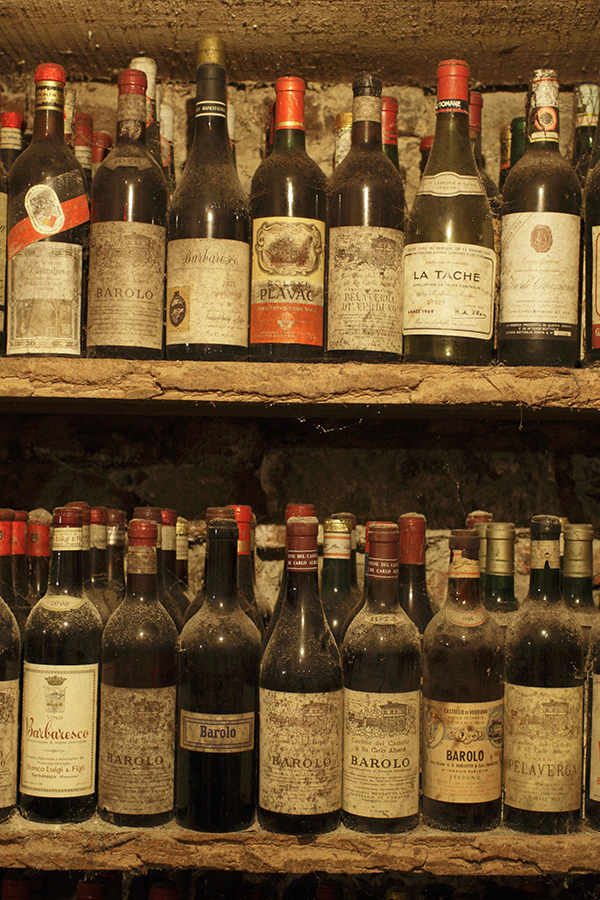 Unterschätzter Entspannungsfaktor: ein gut gefüllter Weinkeller